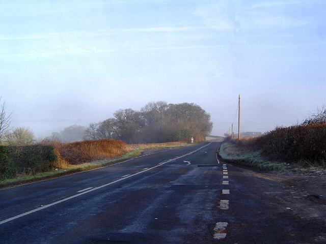 Quiet Sunday morning on the A381 - south Devon