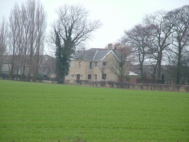 New farm house at Vissitt Manor