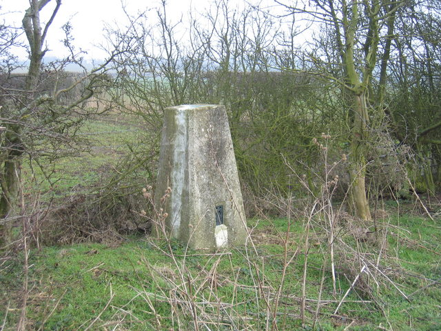 Trig point on Long Hill