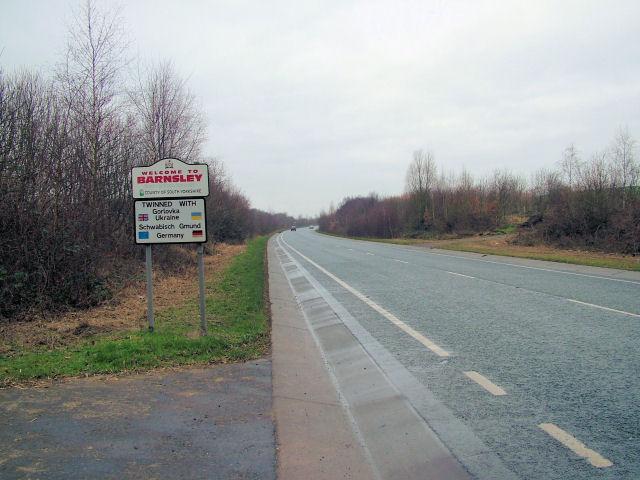 Welcome to Barnsley Sign