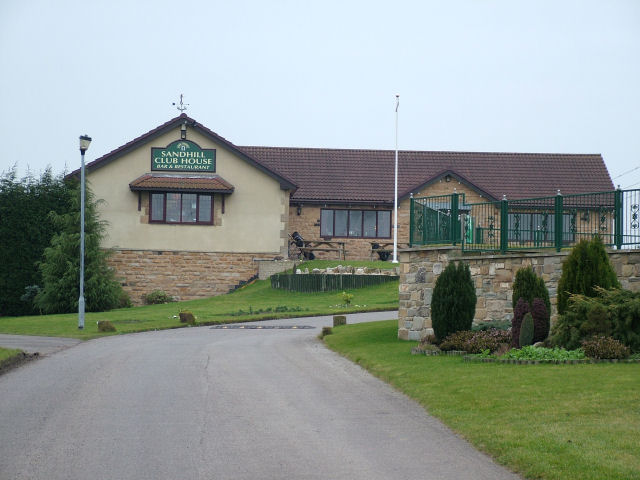 Sandhill Golf Club House