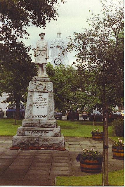 Inverurie War Memorial.