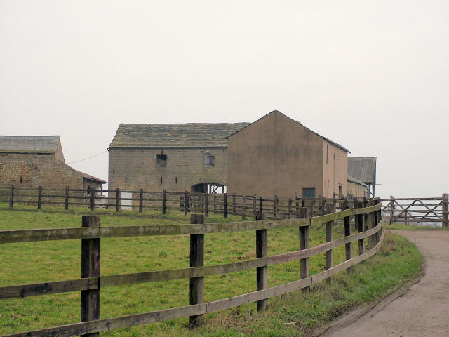 Farm buildings at Wink House