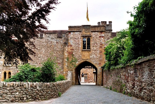 Taunton Castle, Somerset
