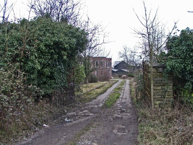 Entrance to Dallance House from Galleyhill Road