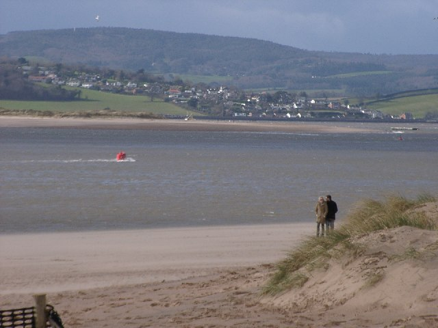 The Village of Eastdon, across the Estuary