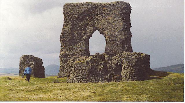 Dunnideer Castle.