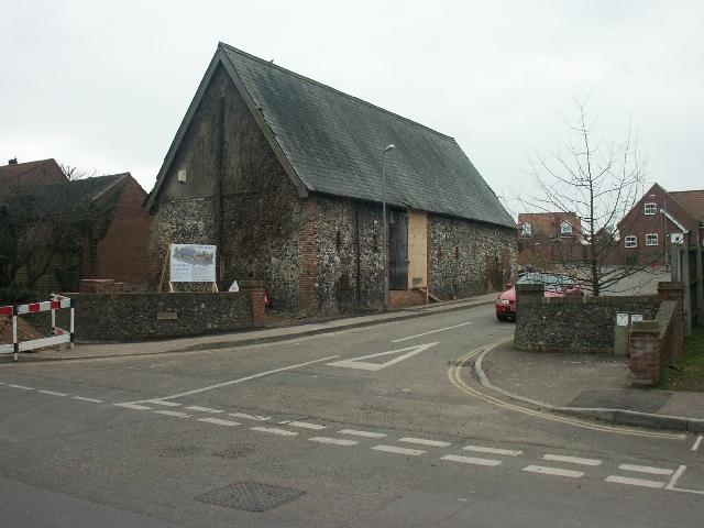 Barn conversion, Trowse
