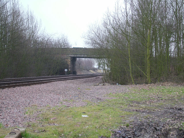Bridge over railway