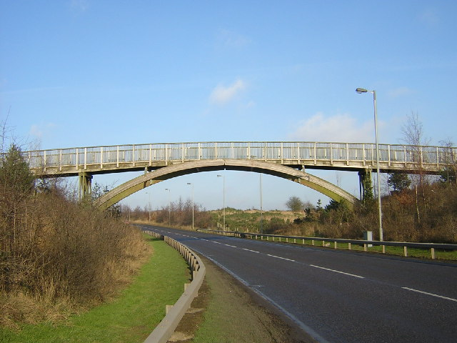 Footbridge Over A723