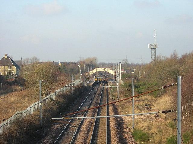 Holytown Station