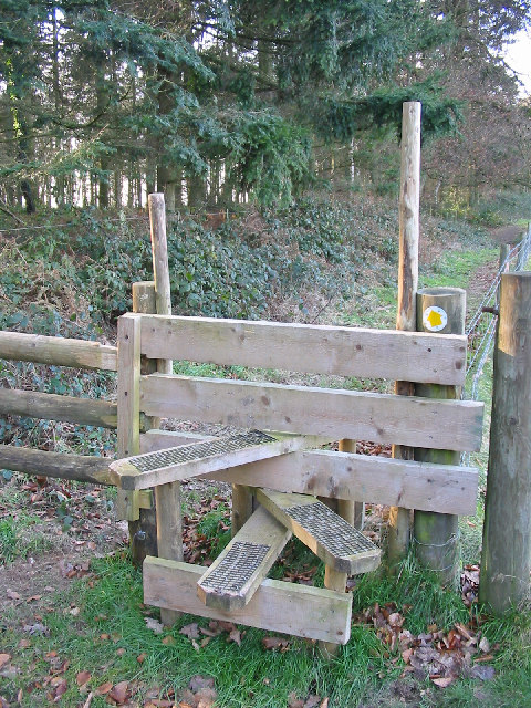 Stile at Damerham Knoll Damerham Hampshire
