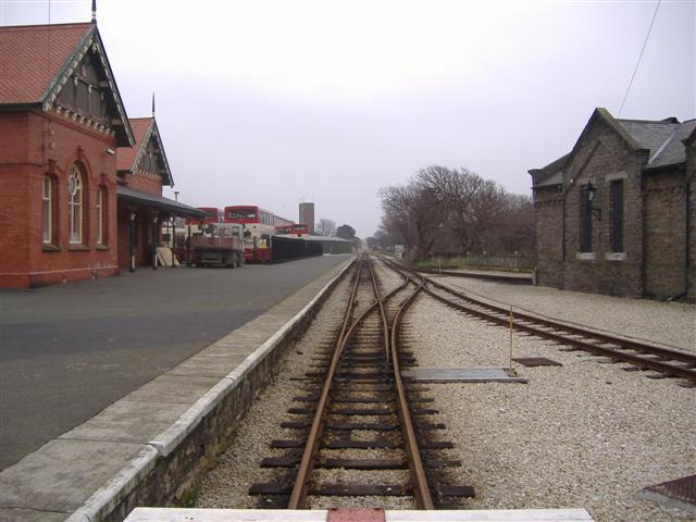 Railway station, Port Erin, Isle of Man