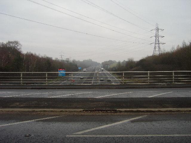 Motorway bridge, Upton