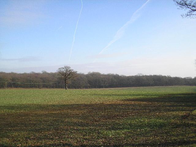 Welham Green. From footbridge over A1(M)