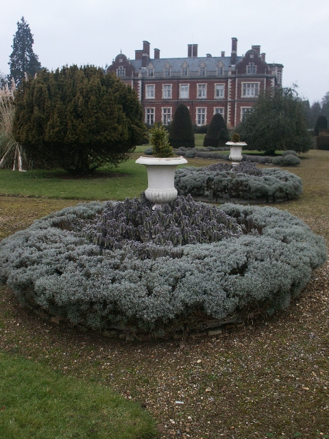 Gardens, Lynford Hall