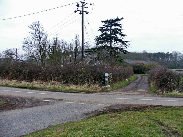 Entrance to Fernhall Farm, Fernhall Lane