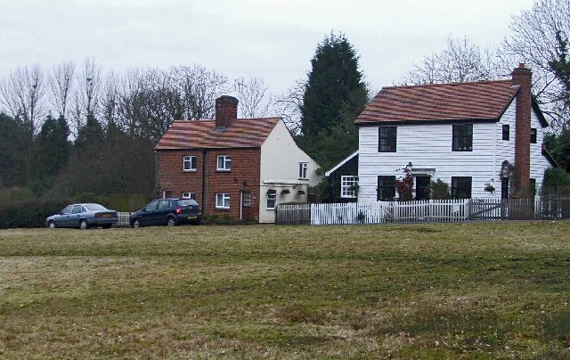 Cottages, Crown Hill, Copthall Green