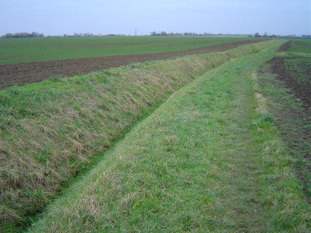 Footpath, north east of Yaxley