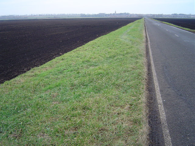 Hod Fen Drove, south of Yaxley