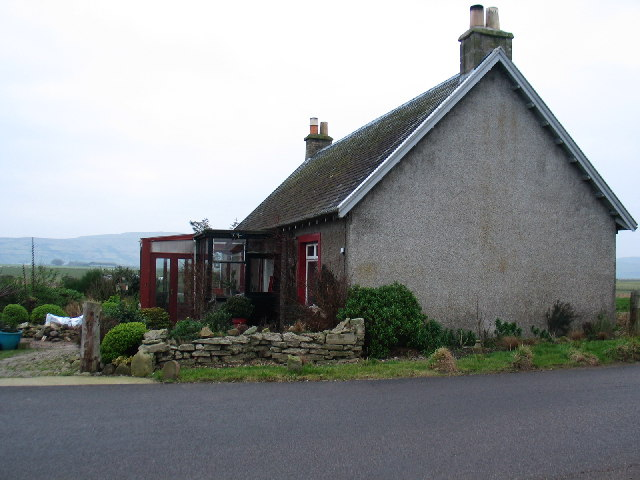 Westbacks Cottage on the Moss road near Campbeltown.