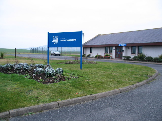 Campbeltown Airport Terminal.