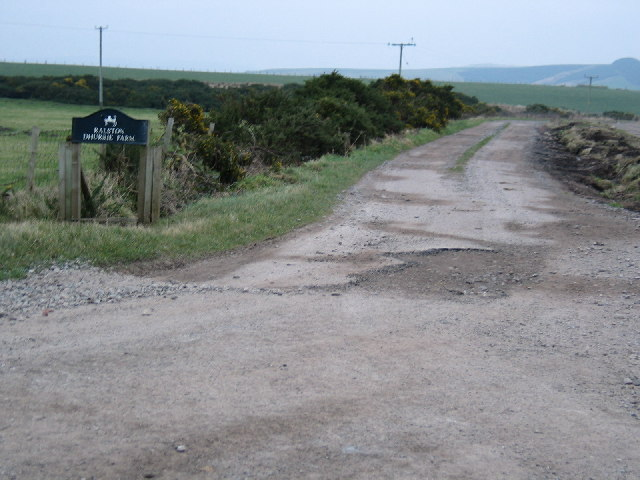 Dhurrie Farm road entrance.