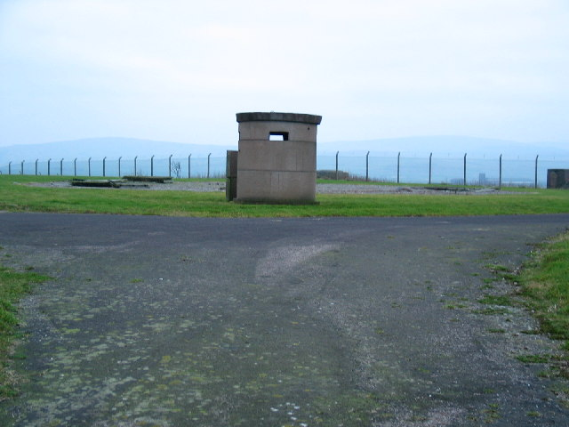 MOD lookout post within Machrihanish Airfield.