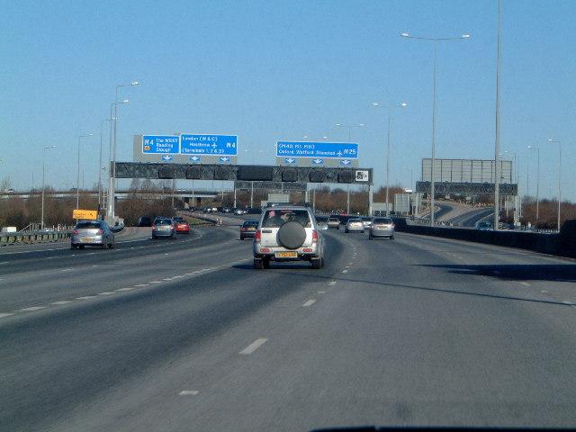 M25  M4 interchange