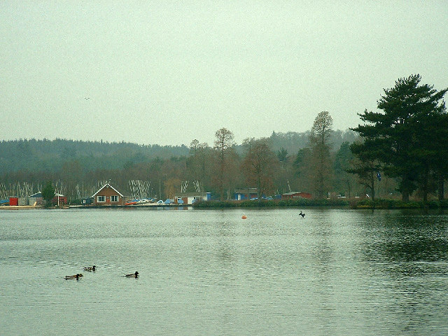 Hawley Lake and sailing club near M3J4a