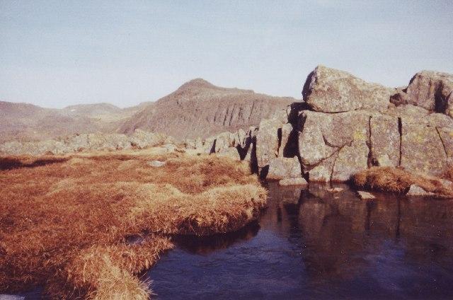 Frozen Tarn Crinkle Crags