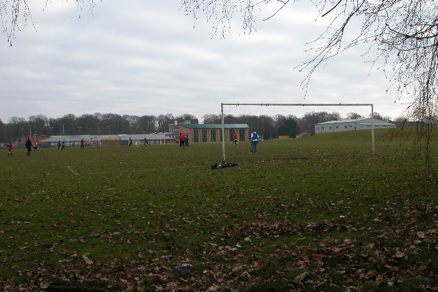 Sunday Football match at Five Acres
