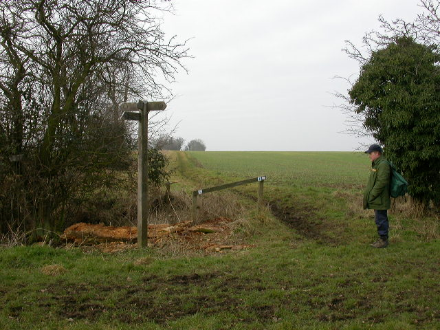 Boundary Post marking Junction of four Parishes