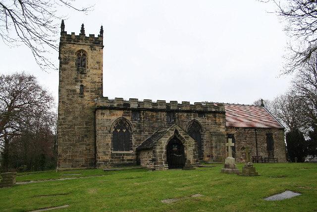 St.Peter's church, Tankersley