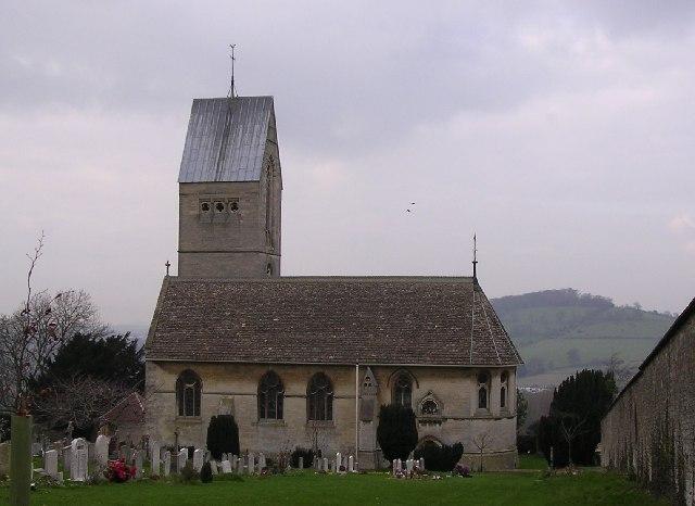Selsley.  All Saints church