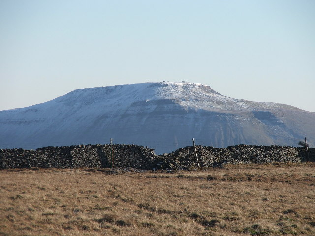 Ingleborough from the west.