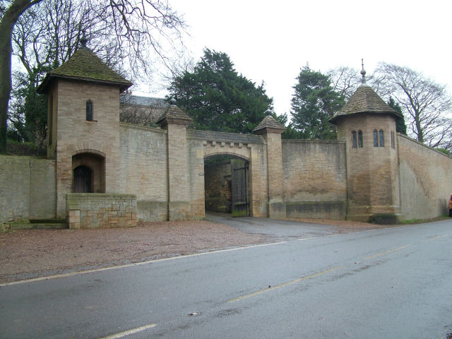 Entrance to Hooton Pagnell Hall