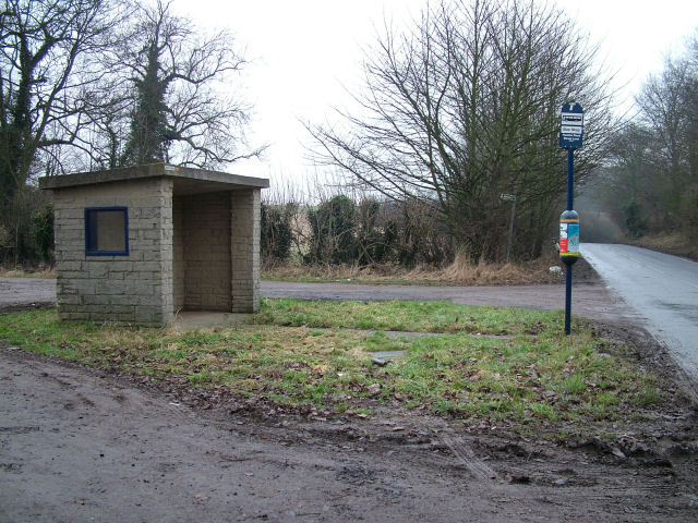Bus Shelter and Sign