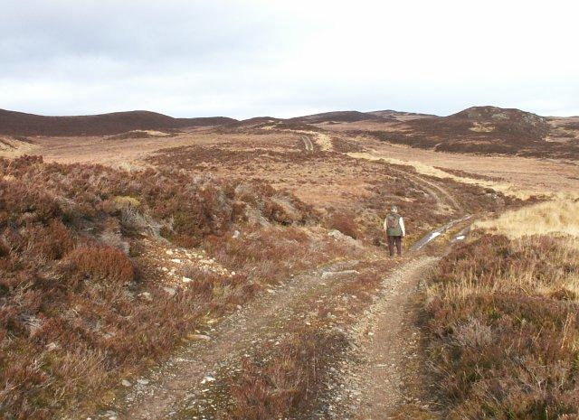 Estate road by Loch Ballach