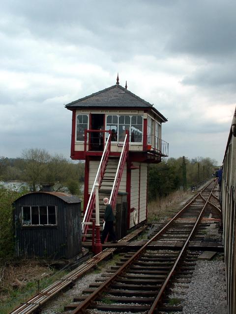 Kilby Bridge Signal box