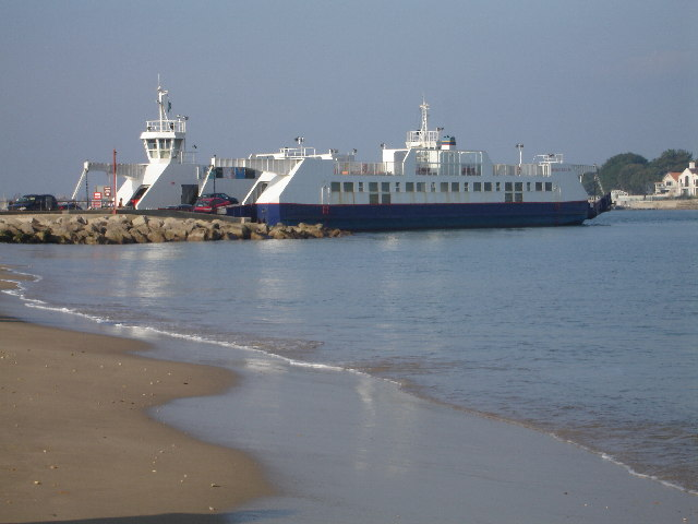 The Sandbanks Chain Ferry