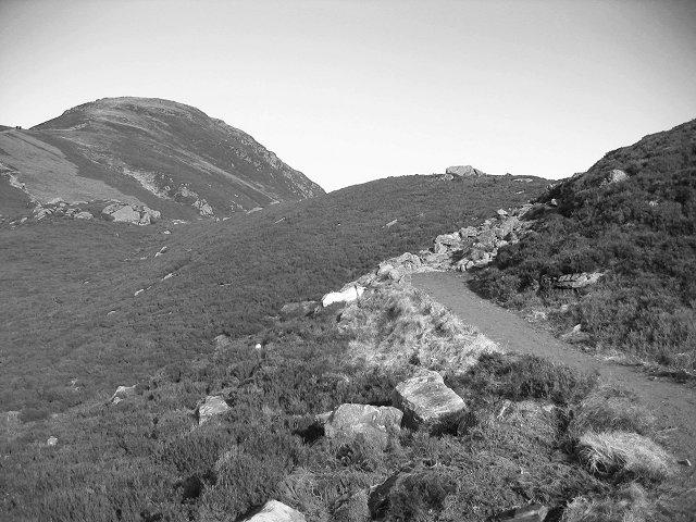 Moraine, Loch Brandy.