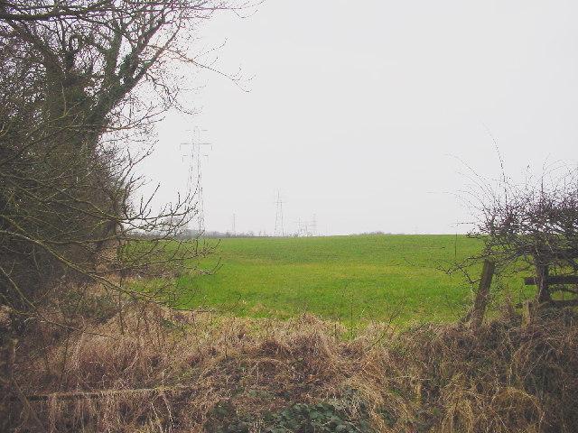 Farmland at Knockupworth