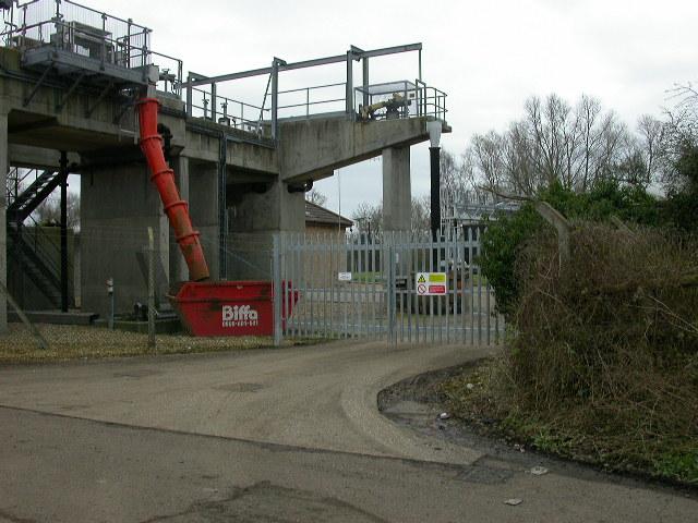 Entrance to Sewage Works