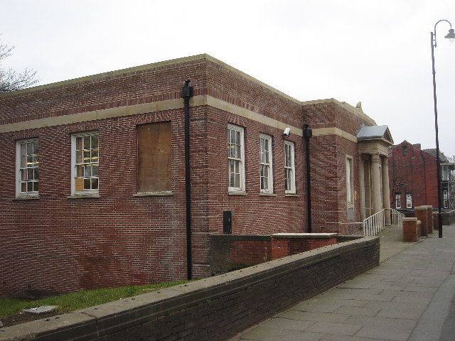 Tonge Moor Branch Library building