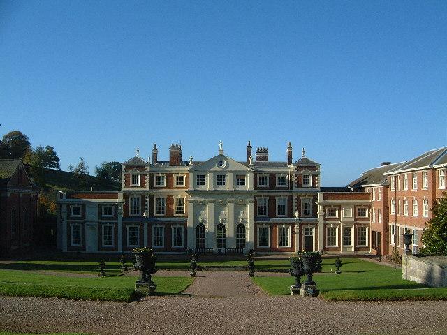 Hawkstone Hall Rear View