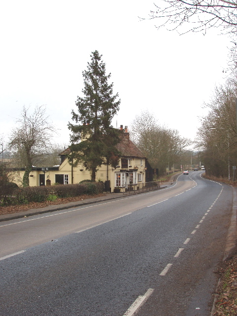 Watling Street and the Waggon and Horses, Elstree