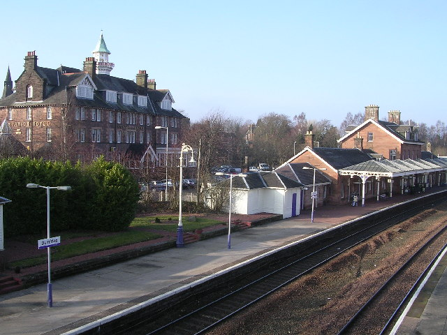 Dumfries Railway Station and Station Hotel