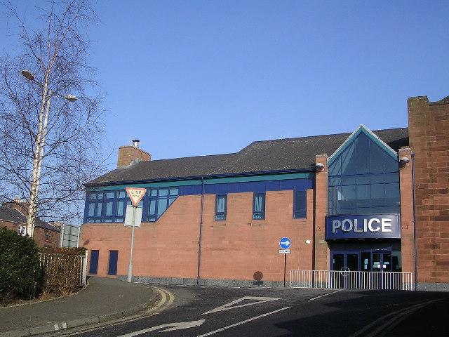 Dumfries Police Station