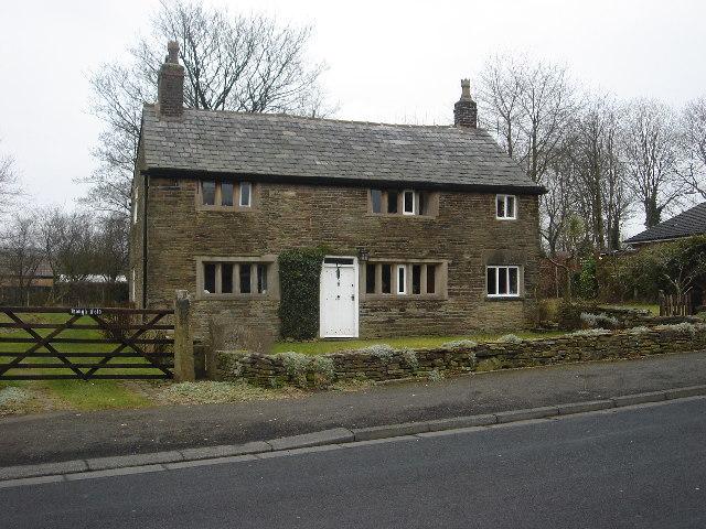 Hough Fold farmhouse